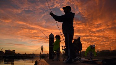 Recreational fishing has been banned under Victoria's stage three restrictions.