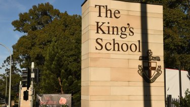 The King's School in North Parramatta is charging more than $40,000 in year 12 school fees once additional levvies are included.
