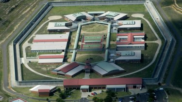 Two prisoners have been taken to hospital after being stabbed in a brawl at Lithgow Correctional Facility.