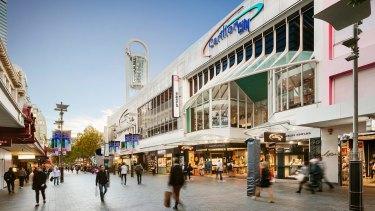 Carillon City shopping centre in Perth photo.