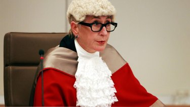 Justice Elizabeth Fullerton is presiding over the criminal trial of two former Labor ministers, Ian Macdonald and Eddie Obeid.