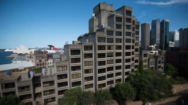Apartments in the now-privatised Sirius public housing building are now selling for big money.