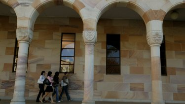 """UQ vice-chancellor Peter Hoj believes it is """"critical"""" to allow some international students back into Queensland to help the economy."""