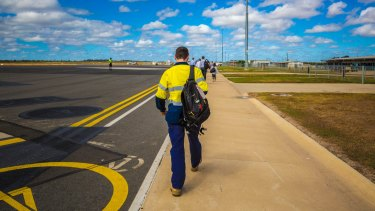 The man failed to self-isolate after landing in WA from Victoria in early July.