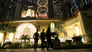Melco Crown Entertainment's Studio City resort in Macau. The Crown inquiry has been told it should be skeptical of the territory's junket licence regime.