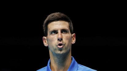 Novak Djokovic's demands land wide