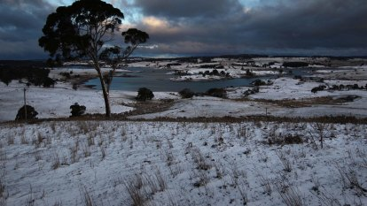 Snow of force: Temperatures to drop as much as 10 degrees below average