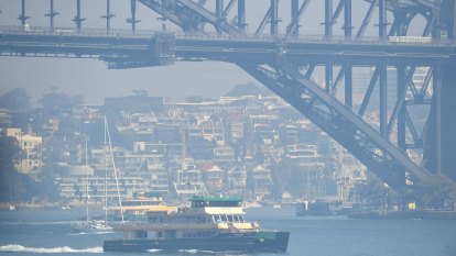 Smoke chokes Sydney as more than 50 people treated for breathing-related incidents