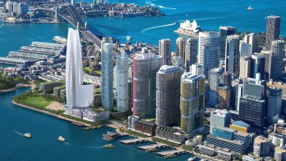 Crown takes legal action over Barangaroo's harbour views