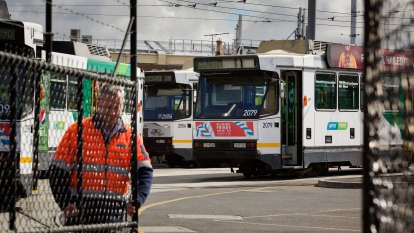 Tram drivers have been striking for pay deal worth an extra $20,000