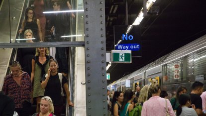 Sydney's commuters will be able to spare a seat on public transport as restrictions are eased
