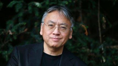 Nobel winner Kazuo Ishiguro reaches for the sun