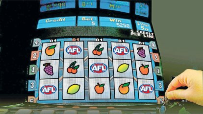 AFL clubs to face 'double hit' with pokies downturn