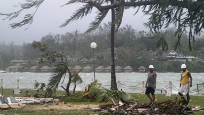 An economic hurricane is hurtling towards the South Pacific