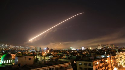Syria accuses Israel of air strikes against central airbase