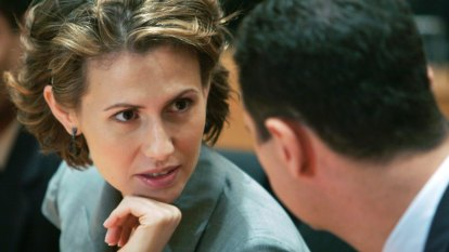 'Rose of the Desert' Asma al-Assad, Syria's elite hit with new sanctions