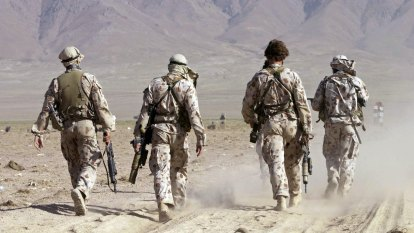 SAS soldiers given 'show cause' notices over war crimes allegations