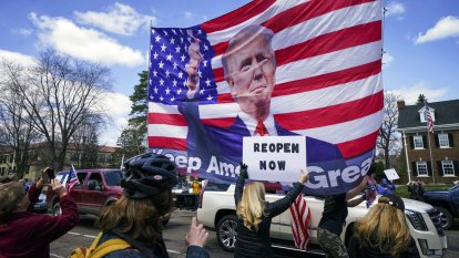 Trump's 'LIBERATE MICHIGAN!' tweets incite insurrection. That's illegal in the US