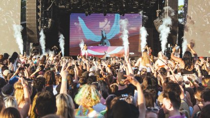 Three arrested at FOMO festival as drug amnesty bins put in place