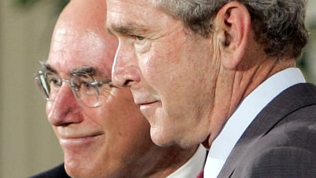Proximity to George Bush became a liability for John Howard.