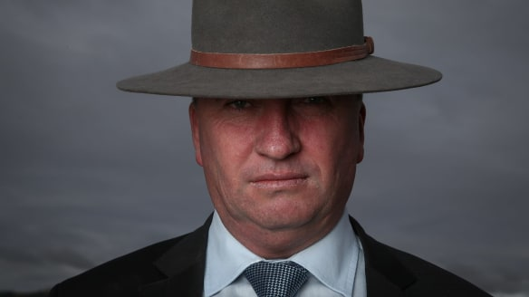 Joyce threatens to go rogue after NSW result