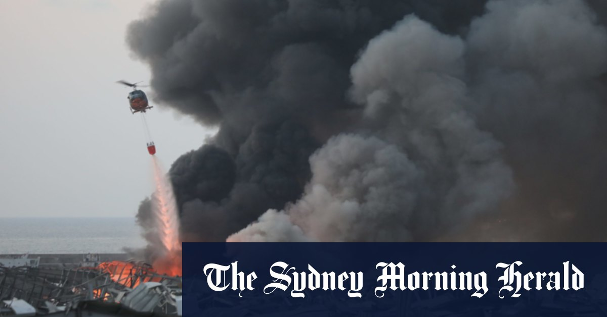 One Australian dead embassy 'considerably' damaged in Lebanon blast – Sydney Morning Herald