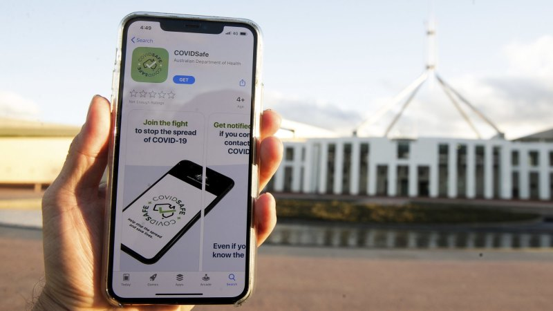 Victorian health officials use COVIDSafe app data for first time to trace infected person's contacts – The Age