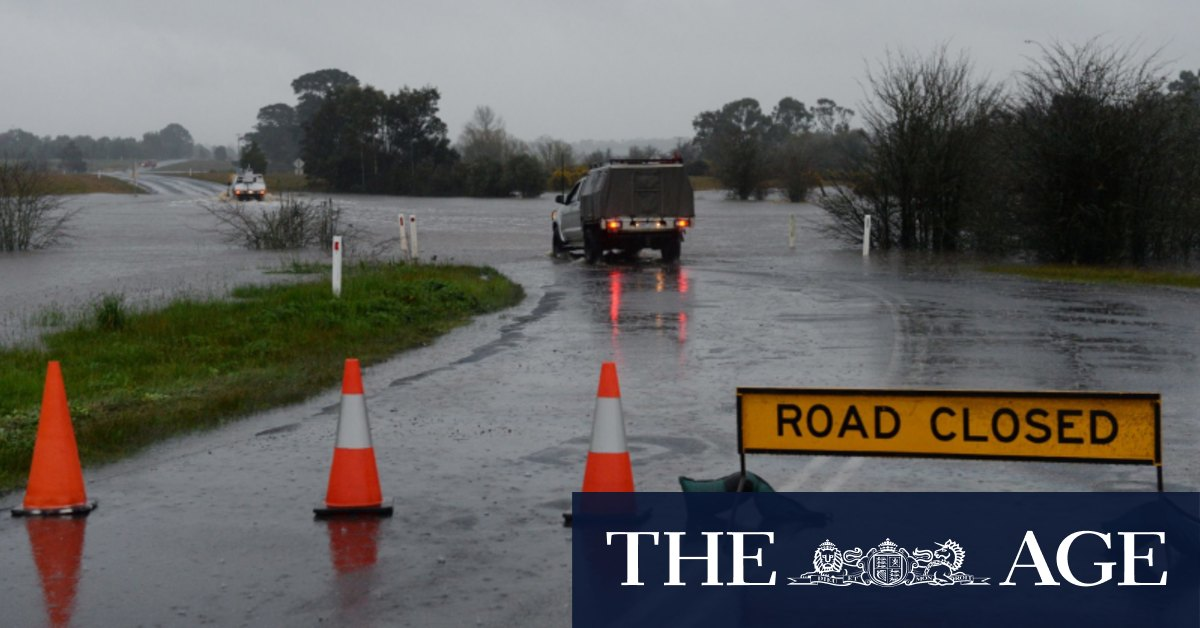 Victoria prepares for floods and damaging winds courtesy of the tropics – The Age