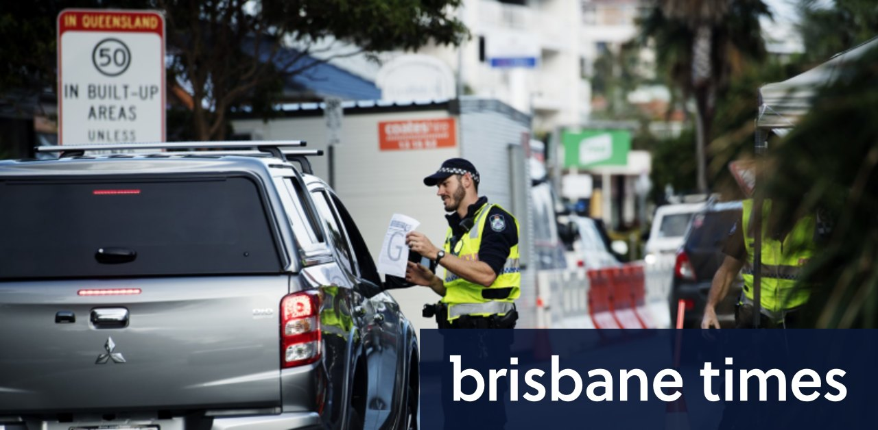 142 people stopped at Queensland border in six hours