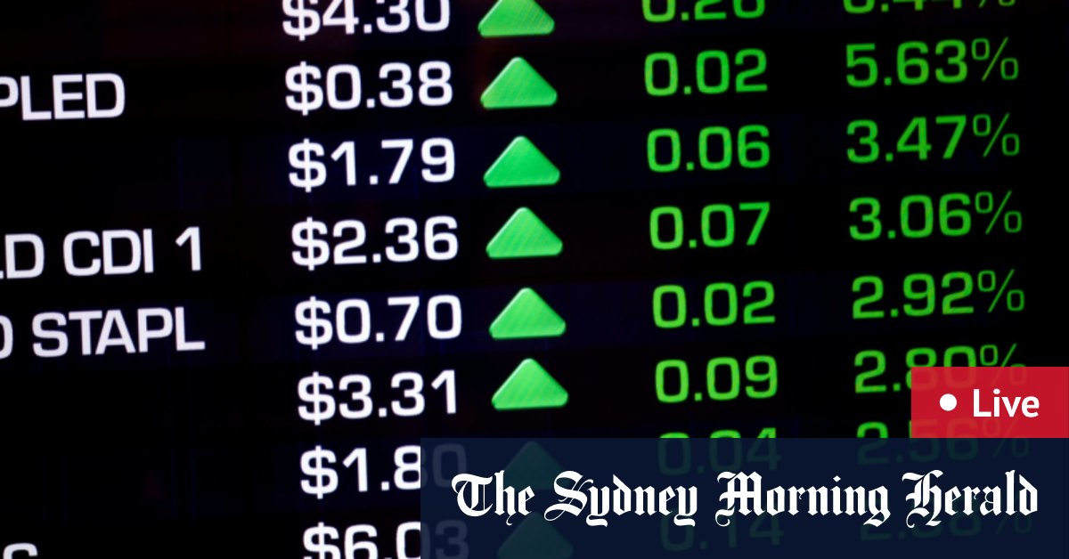 ASX set to climb as $90b JobKeeper ends – The Sydney Morning Herald