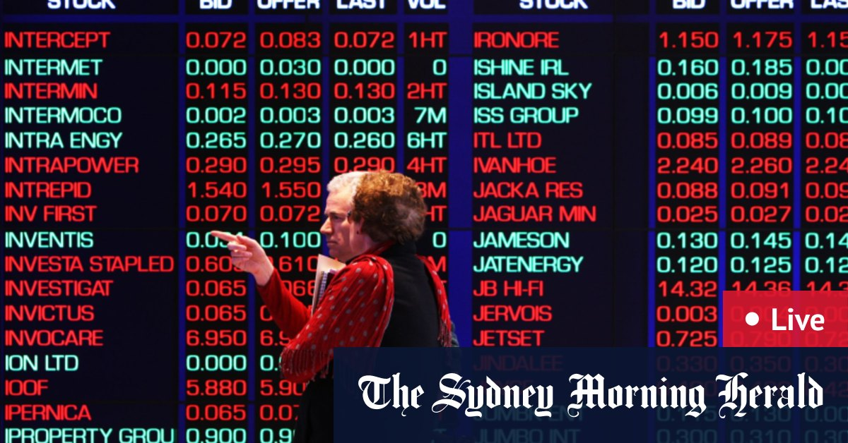As it happened: Miners limit ASX dip with Georgia on investors' minds – The Sydney Morning Herald