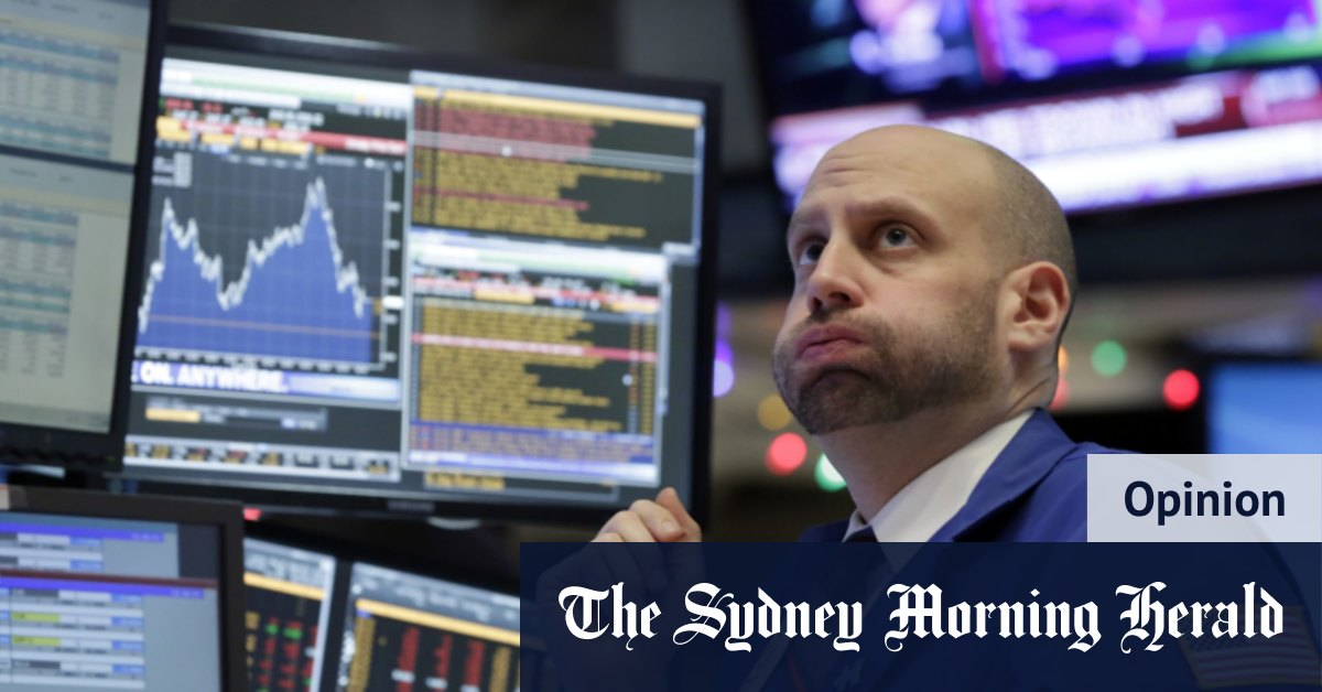Reality bites: Wall Street rocked as it confronts a painful truth – Sydney Morning Herald