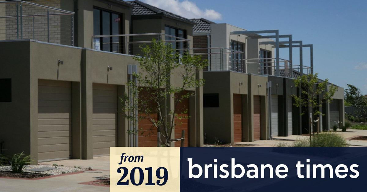 Brisbane ban on 'cookie-cutter' townhouses could be enforced by July