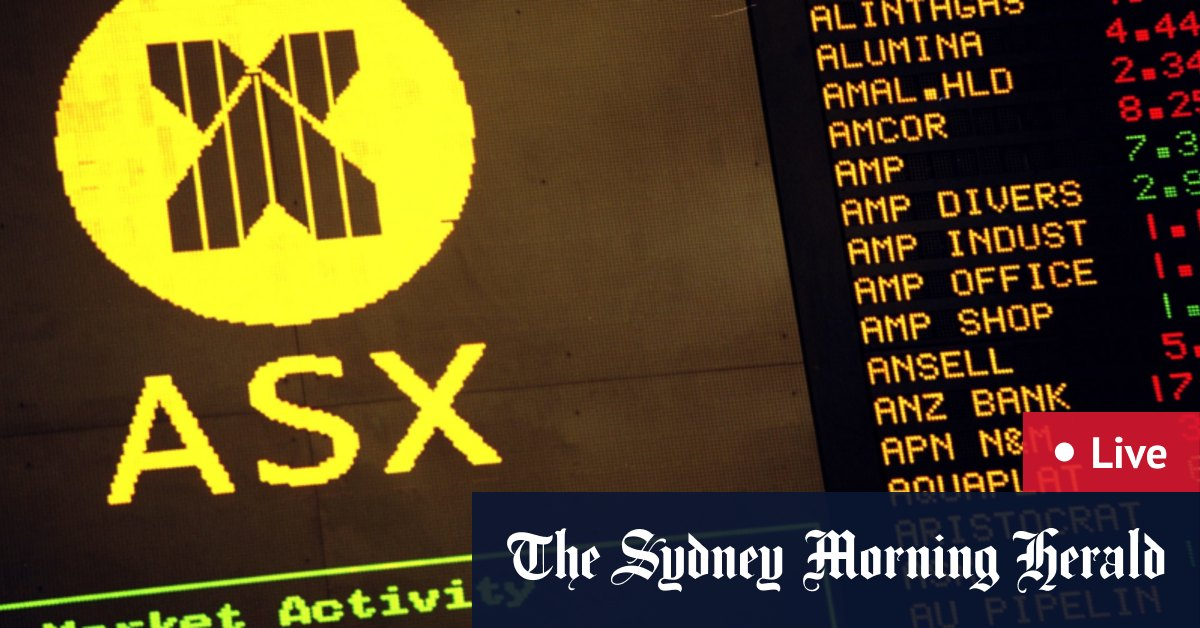As it happened: ASX gains 1% to one-week high – The Sydney Morning Herald