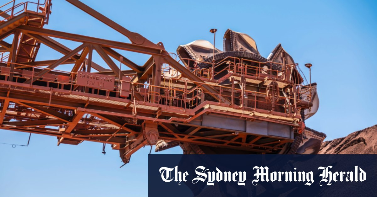 Iron ore price soars to a record high as China's steel mills run hot – Sydney Morning Herald