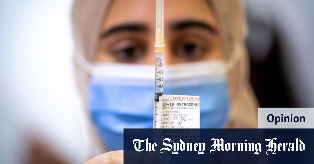'No jab no franking credits': Let's get creative to get Australia vaccinated – The Sydney Morning Herald