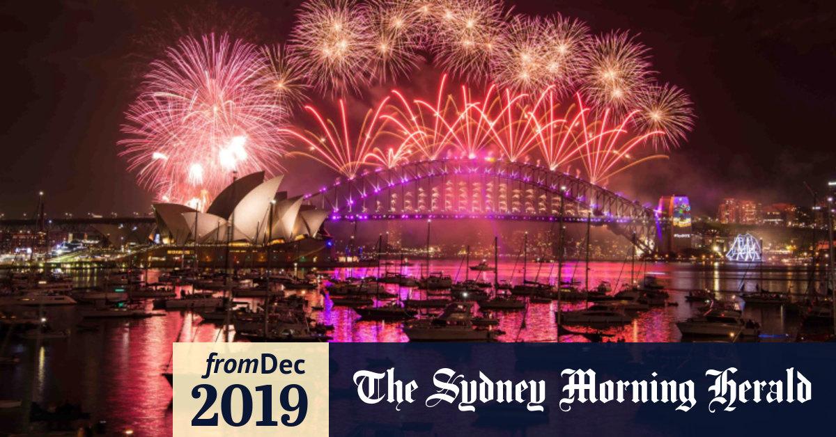 Sydney New Year S Eve 2019 Fireworks Weather Public Transport