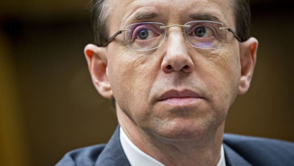 US Deputy Attorney-General Rosenstein expected to leave role in weeks
