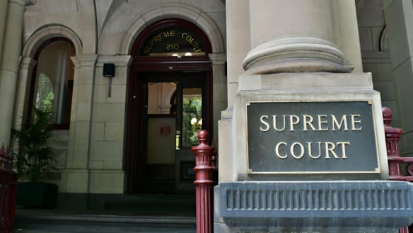 MELBOURNE, AUSTRALIA - DECEMBER 20: A general view of Supreme Court of Victoria on December 20, 2016 in Melbourne, Australia. Generic (Photo by Vince Caligiuri/Fairfax Media)