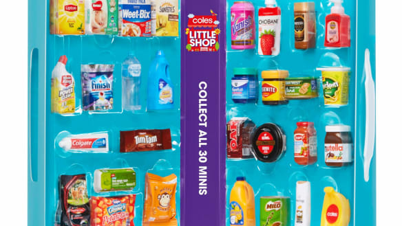Coles sales boost wasn't all child's play