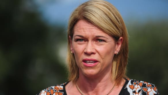 Former primary industries minister Katrina Hodgkinson is considering a tilt at the federal seat of Gilmore.