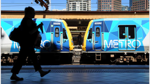 Commuter pain as major train lines grind to a halt