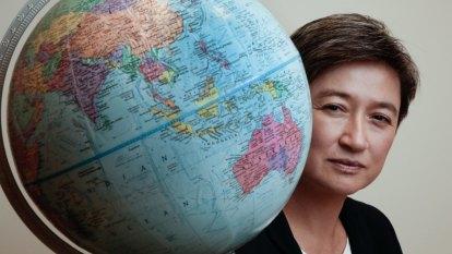 'She's quite remarkable': Penny Wong awarded major prize for political leadership