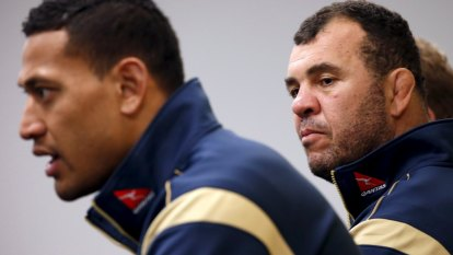 'It was crazy stuff': Cheika reveals fans threatened him over Folau