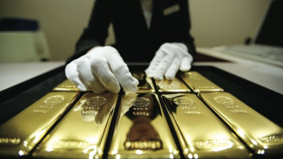 It's a gold rush: Central banks stocked up reserves by 74 per cent