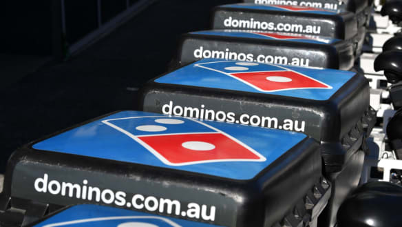 Swipe left: Domino's dating app doesn't stop investor heartbreak