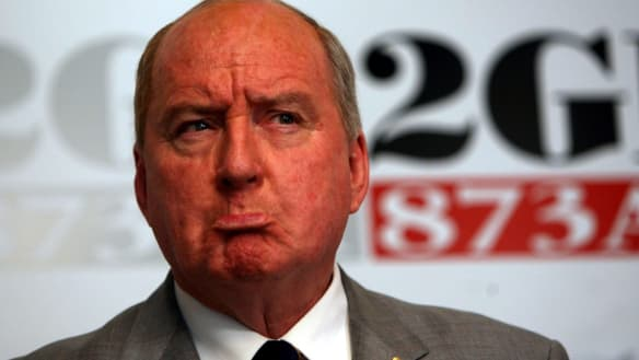 Advertisers abandon 2GB over 'offensive' Alan Jones comments
