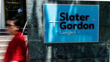 Slater and Gordon has cut staff numbers from more than 1,200 to around 850.