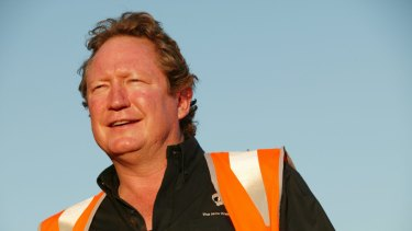 Fortescue founder Andrew 'Twiggy' Forrest's wealth has grown $5 billion this year.