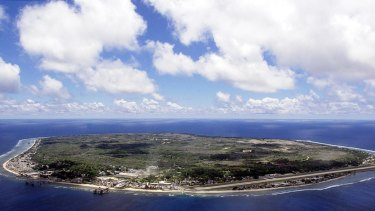 A group of Australians has been detained on Nauru.